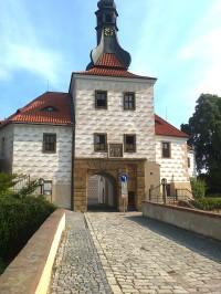 Kostelec nad Černými lesy - zámek, vstup