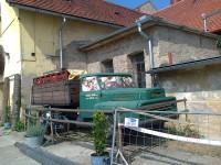 Kostelec nad Černými lesy - nádvoří pivovarského muzea