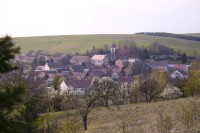Brankovice - pohled na obec