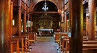Dřevěný kostel Sv.Bedřicha_Bílá