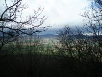 Výhled ze Sutomského vrchu
