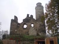 Zřícenina hradu Kostomlaty
