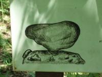 Původní podoba viklanu