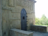 Vchod do kaple