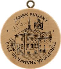 Turistická známka č. 2313 - Zámek Svijany