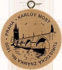 Turistická známka č. 1800 - Karlův most