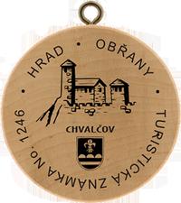 Turistická známka č. 1246 - Obřany - Chvalčov