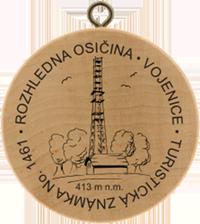 Turistická známka č. 1461 - Osičina u Vojenice