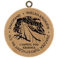 Turistická známka č. 10 - Zakopane Wielka Krokiew