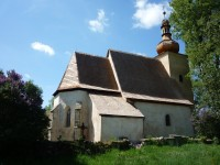 Loukov - gotický kostel sv. Markéty (HB)