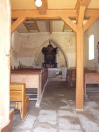 Řečice – gotický kostel sv. Jiří (PE)