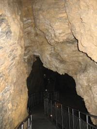 Zbrašovské aragonitové jeskyně v Teplicích