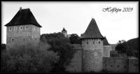 Mohutná zřícenina hradu Helfštýna