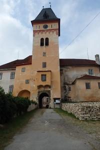 zámek ve Vimperku