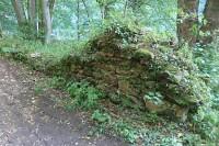 Rozvaliny hradu Příběnice