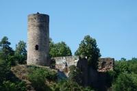 Zřícenina hradu Dobronice u Bechyně