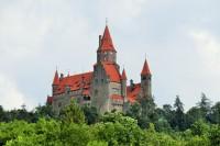 Na hradě Bouzov