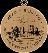 Turistická známka No. 1386-Brníčko