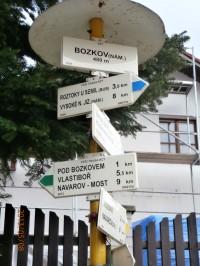 Do Návarova přes Bozkov