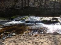 Řeka Kamenice tanvaldská