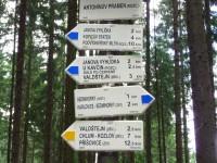 lázně Sedmihorky - 3 léčivé prameny - Janova vyhlídka - hrad Valdštejn - skalní vyhlídka Hlavatice