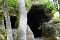 Jeskyně u hradu Kost - skalní byt Barušky