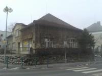 Bludov - rodný dům Adolfa Kašpara (na křižovatce u kostela Sv.Jiří)