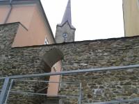 Mohelnice - Vodní brána a zbytky městského opevnění