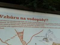 Karlova Studánka-vodopády Bílé Opavy-ch.Barborka-Praděd a sjezd na koloběžkách i s dětmi