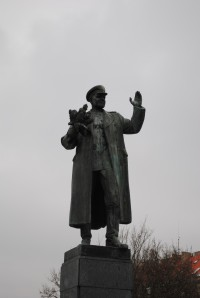 Pomník - Ivan Stěpanovič Koněv