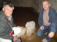 Uloženie kameňa z Dunaja