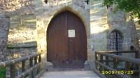 Vstupní brána hradu Litice