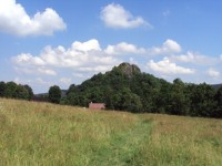 Tolštejn - příchod od Jedlové hora