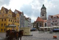 Míšeň - Fauenkirche na Marktplatz