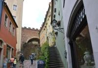 Míšeň - cesta na Burgsberg