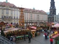 Drážďany - vánoční trhy
