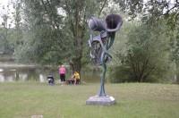 Pohansko - strom větrné harfy