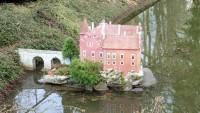 Miniatury hradů v Mariánských lázních - park Boheminium