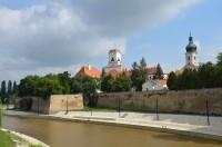 Györ, průmyslové město s historickým jádrem