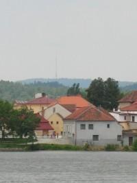 Pohled na město Telč