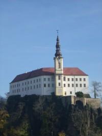 zámek děčín pohled z pastýřské stěny
