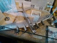 model zříceného letadla
