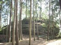 Chřibský hrádek aneb skalní vyvýšenina