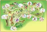 Plánek Ježíškovi cesty