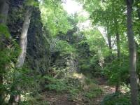 cesta na Zámecký vrch