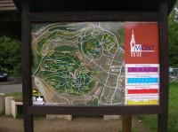 Značené cyklistické trasy v okolí Resslu