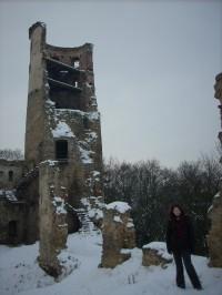 Romantická zřícenina hradu Zvířetice