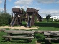 Dětské hřiště u rozhledny