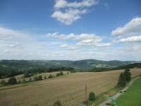Pohled na Českomoravskou vrchovinu