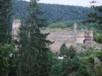 Okouzlující zřícenina hradu Dívčí Kámen